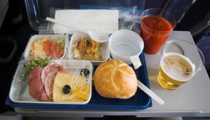 Meals are now extra on many charter flights