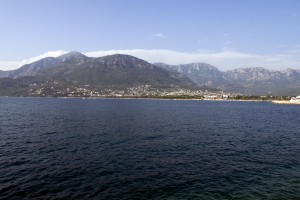 Bar: The city seen from the sea