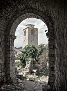 Bar: Ruins in the old town of Stari Bar