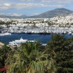 Bodrum: Yachts and motor cruisers crowd the marina