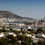 Bodrum: View over the town, harbour and Castle