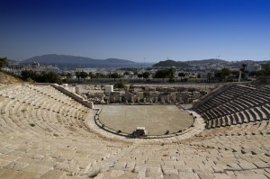Bodrum: View from the top of the Roman Amphitheatre