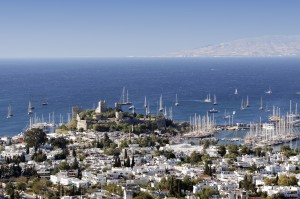 Bodrum: The Crusader Castle looking out to Kos