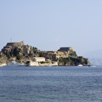 Corfu: The NAOK harbour just south of the Fortress