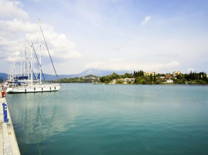 Gouvia: Your best chance of a berth in Corfu but a bit out of town