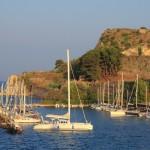 Corfu: Mandraki harbour is usually full of yachts