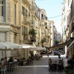 Corfu: A typical street