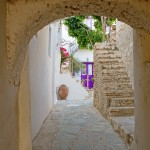 Folegandros Chora: Alley in the old town