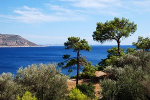Kalkan: View over the bay
