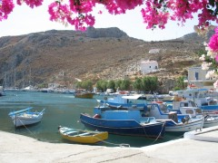 Vathi (Kalymnos): The harbour