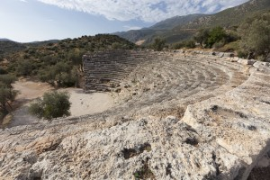 Kas: The Amphitheatre dates from the 1st century BC and offers excellent views