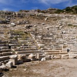 Knidos: The Amphitheatre offers excellent views