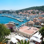Korcula Luka: The town and ACI marina