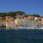 Mali Losinj: The yacht quays are unusually well spaced.