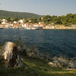 Rovenska: The village and its small harbour