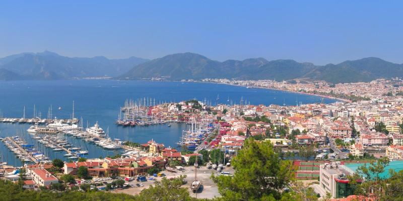 Lycian coast (west): Yacht charter bases | Sailing Choices