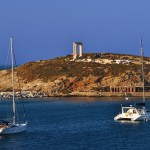 Naxos: The gate of the Temple of Apollo