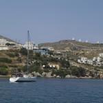 Panteli: A yacht entering the harbour