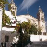 Paros: Church of Agia Triada, in Lefkes in the centre of the island