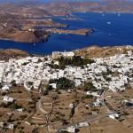 Patmos Island: Aerial view