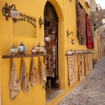 Rhodes Town: One of the many souvenir shops in the old town
