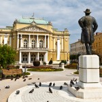 Rijeka: Kazalisni Park and Theatre, one of numerous impressive buildings in town