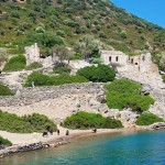 Kamerye Island: Ruins of a Byzantine church on the island also known as Camellia