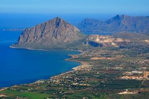 Mount Cofano, near San Vito Lo Capo on the NW corner of Sicily