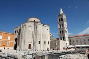 Zadar: Church of St Donatus