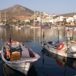 Datca: Fishing boats in the harbour