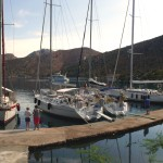 Dirsek: Yachts on the jetty