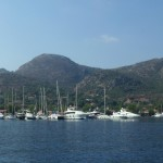 Selimiye: Yachts and motor boats on the quay