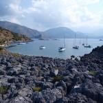 Karacaoren: Yachts moored in the bay