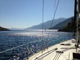 Carian: En route between Bodrum and Palamut