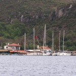 Sogut: A flotilla on the quay