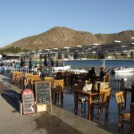 Akyarlar: Restaurants on the sea front