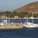 Akyarlar: Yachts and motor boats in the harbour