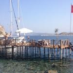 Asardibi Limani: Charter yachts on the jetty