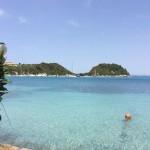 Lakka: View across the bay