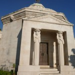 The Racic Mausoleum, sculpted by Ivan Mestrovic