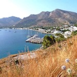 Livadia: Looking across the harbour
