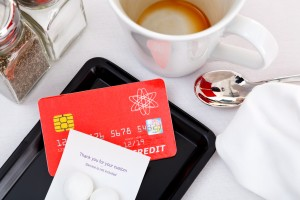 It could be an expensive coffee if you pay by card in your home currency.