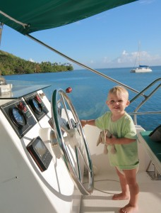 You're never to young to start sailing