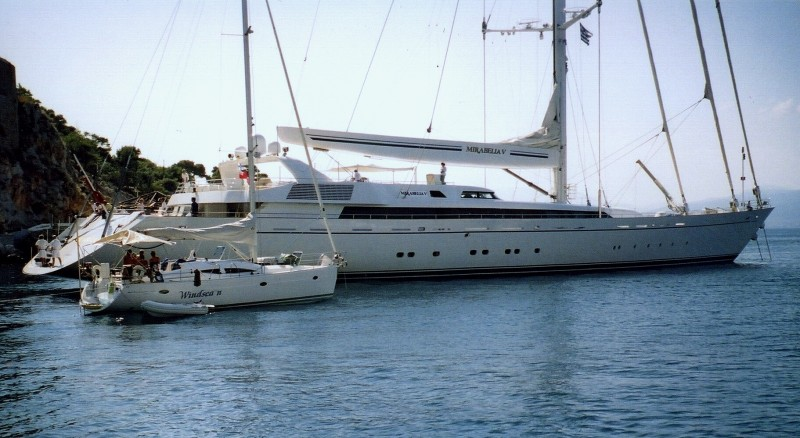 Yachts come in various sizes so there's something for everyone