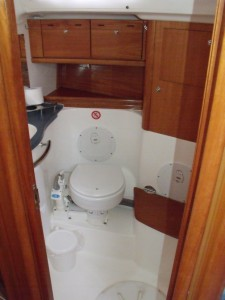Don't expect a bathroom as big as at home