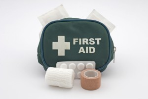 You might want to supplement the boat's first aid kit