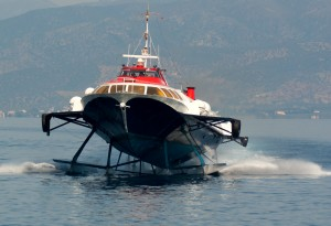 There's still chance to experience the last few hydrofoils, originally designed as Russian troop carriers