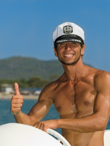 Get sailing tuition from a professional, not some bloke with a dodgy captains hat!