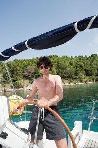 A bareboat charter puts you in the driving seat