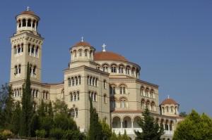 Aegina: The monastery of Agios Nektarios